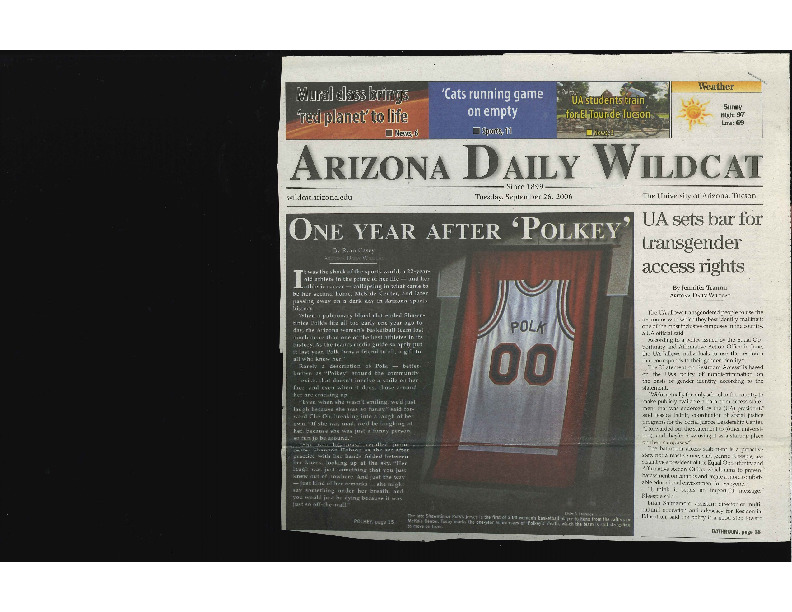 2006 Arizona Daily Wildcat - Article on UA Trans Accessibility.pdf
