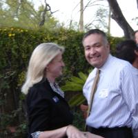 Carol Grimsby (l), Jim Leo (r)