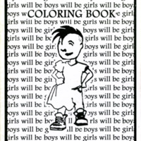 Coloring Book (girls will be boys will be girls)