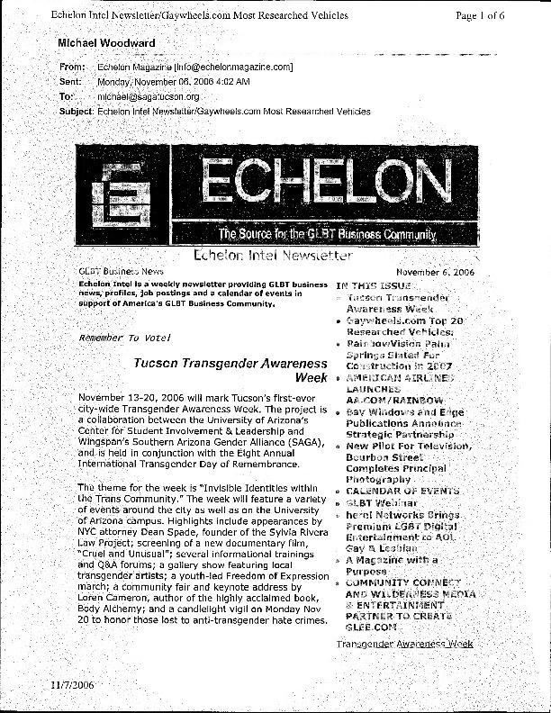 2006 Echelon Newsletter - Trans Awareness Week Advertisement.pdf
