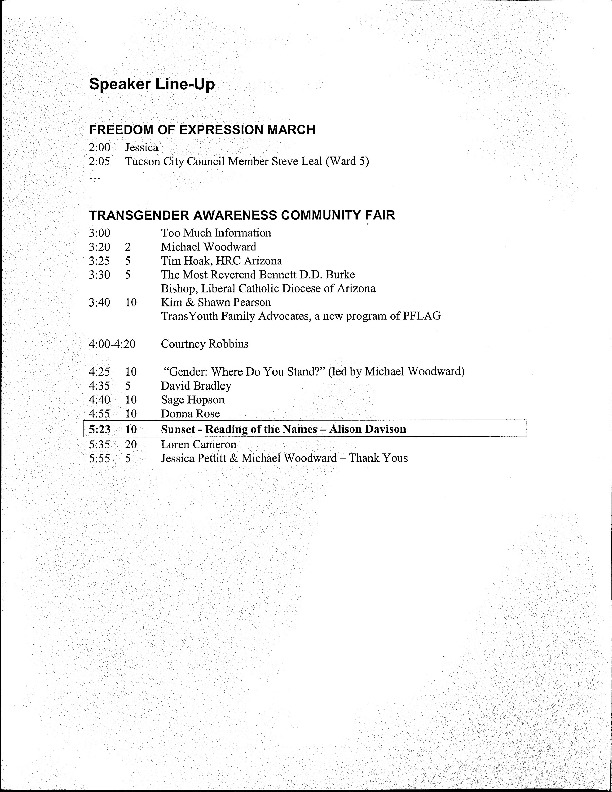 2006 March and Community Fair Speaker Line-Up.pdf
