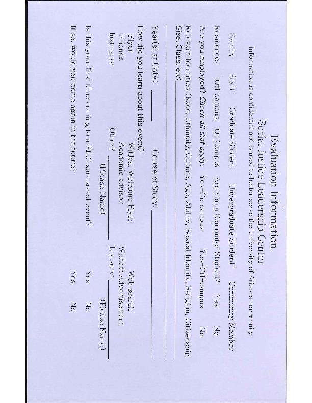2007 Event Evaluation - Social Justice Leadership Center.pdf