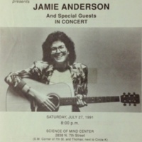 Jamie Anderson and Special Guests in Concert